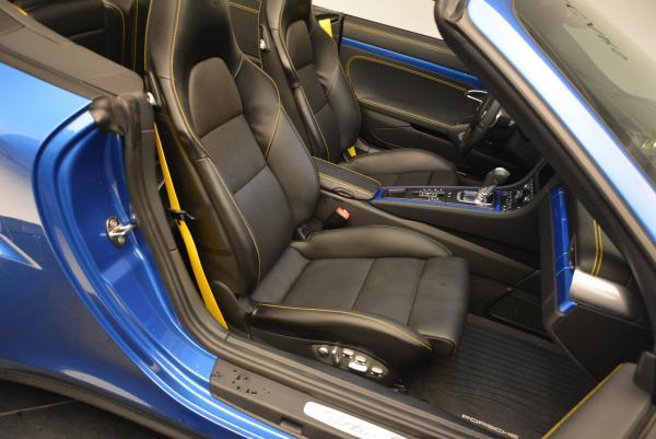 Used 2014 Porsche 911 Turbo S for sale Sold at Bugatti of Greenwich in Greenwich CT 06830 23