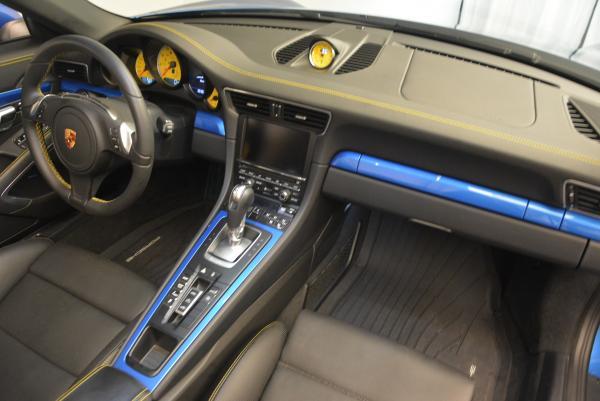 Used 2014 Porsche 911 Turbo S for sale Sold at Bugatti of Greenwich in Greenwich CT 06830 24