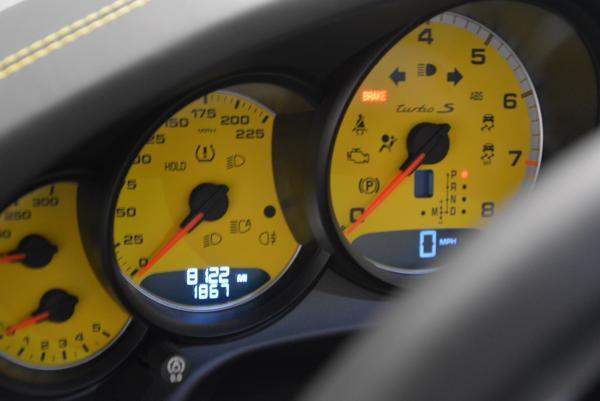 Used 2014 Porsche 911 Turbo S for sale Sold at Bugatti of Greenwich in Greenwich CT 06830 28