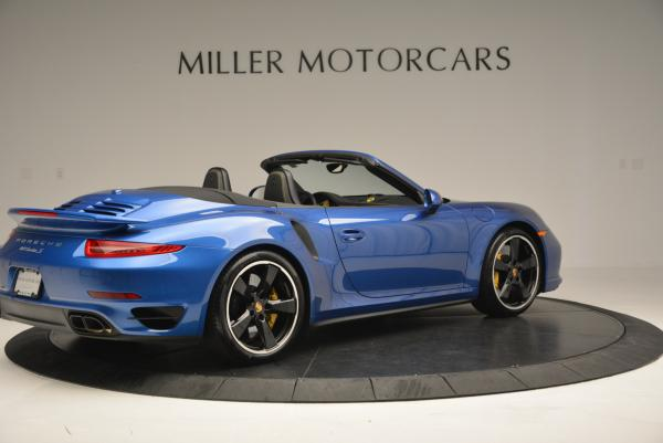 Used 2014 Porsche 911 Turbo S for sale Sold at Bugatti of Greenwich in Greenwich CT 06830 8