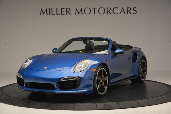 Used 2014 Porsche 911 Turbo S for sale Sold at Bugatti of Greenwich in Greenwich CT 06830 1