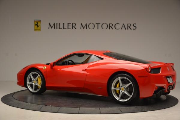 Used 2011 Ferrari 458 Italia for sale Sold at Bugatti of Greenwich in Greenwich CT 06830 4