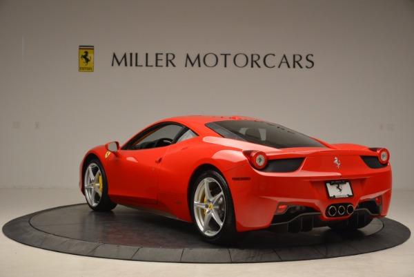 Used 2011 Ferrari 458 Italia for sale Sold at Bugatti of Greenwich in Greenwich CT 06830 5