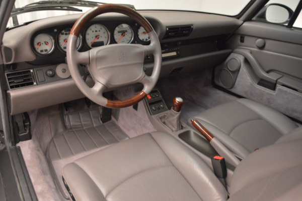 Used 1996 Porsche 911 Turbo for sale Sold at Bugatti of Greenwich in Greenwich CT 06830 17