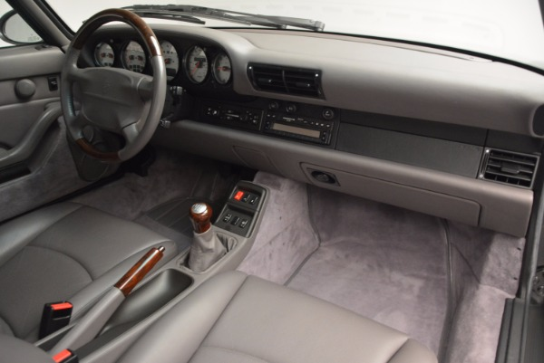 Used 1996 Porsche 911 Turbo for sale Sold at Bugatti of Greenwich in Greenwich CT 06830 22