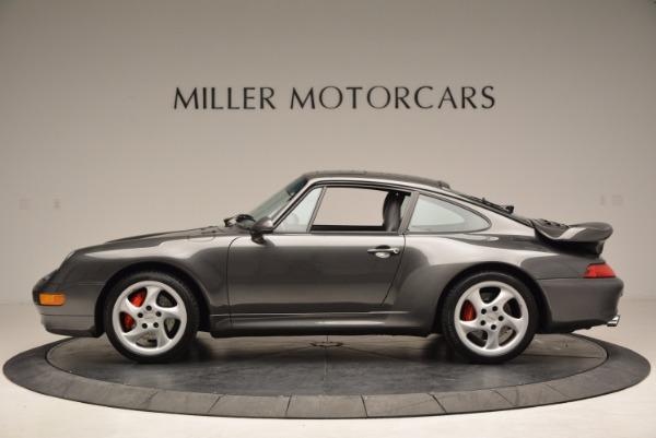 Used 1996 Porsche 911 Turbo for sale Sold at Bugatti of Greenwich in Greenwich CT 06830 3