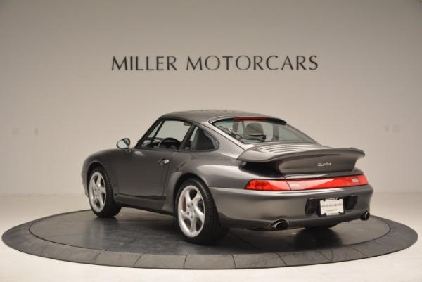 Used 1996 Porsche 911 Turbo for sale Sold at Bugatti of Greenwich in Greenwich CT 06830 5
