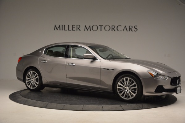 Used 2015 Maserati Ghibli S Q4 for sale Sold at Bugatti of Greenwich in Greenwich CT 06830 10