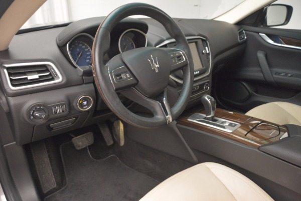 Used 2015 Maserati Ghibli S Q4 for sale Sold at Bugatti of Greenwich in Greenwich CT 06830 13