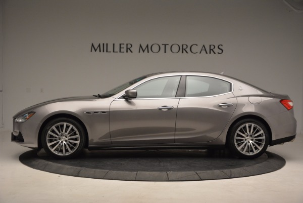 Used 2015 Maserati Ghibli S Q4 for sale Sold at Bugatti of Greenwich in Greenwich CT 06830 3