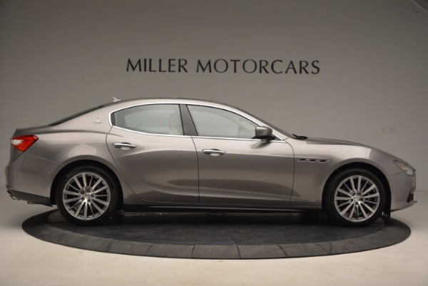 Used 2015 Maserati Ghibli S Q4 for sale Sold at Bugatti of Greenwich in Greenwich CT 06830 9