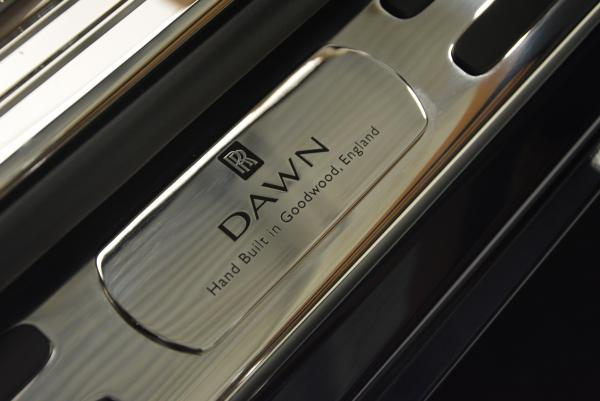 New 2016 Rolls-Royce Dawn for sale Sold at Bugatti of Greenwich in Greenwich CT 06830 20