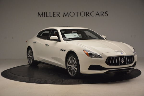 Used 2017 Maserati Quattroporte SQ4 for sale Sold at Bugatti of Greenwich in Greenwich CT 06830 11