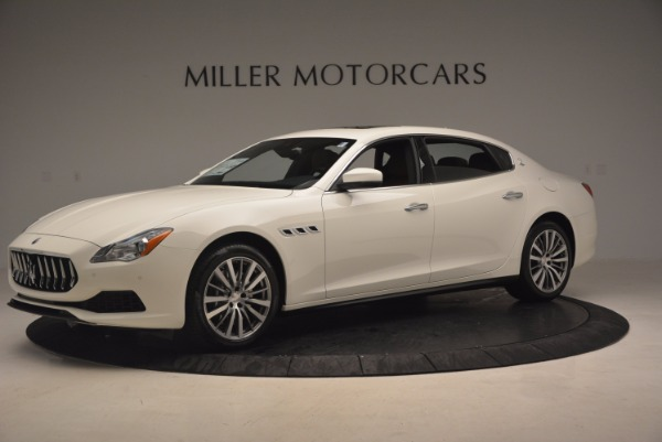 Used 2017 Maserati Quattroporte SQ4 for sale Sold at Bugatti of Greenwich in Greenwich CT 06830 2