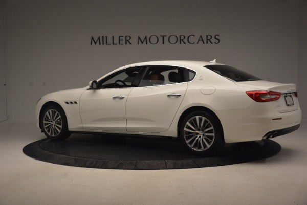 Used 2017 Maserati Quattroporte SQ4 for sale Sold at Bugatti of Greenwich in Greenwich CT 06830 4