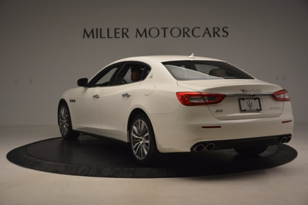 Used 2017 Maserati Quattroporte SQ4 for sale Sold at Bugatti of Greenwich in Greenwich CT 06830 5