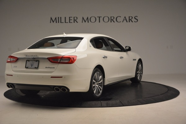 Used 2017 Maserati Quattroporte SQ4 for sale Sold at Bugatti of Greenwich in Greenwich CT 06830 7