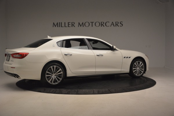 Used 2017 Maserati Quattroporte SQ4 for sale Sold at Bugatti of Greenwich in Greenwich CT 06830 8