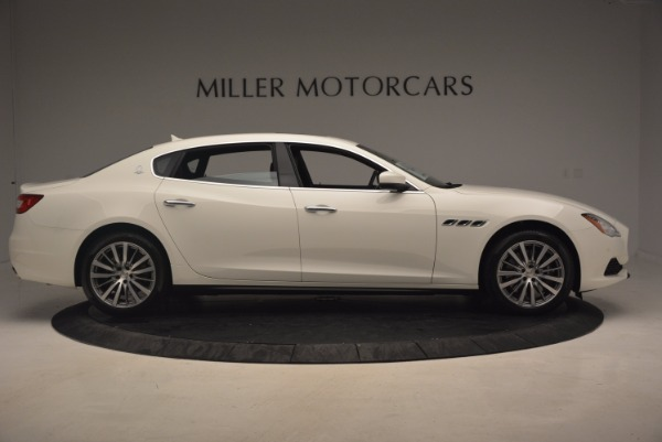 Used 2017 Maserati Quattroporte SQ4 for sale Sold at Bugatti of Greenwich in Greenwich CT 06830 9
