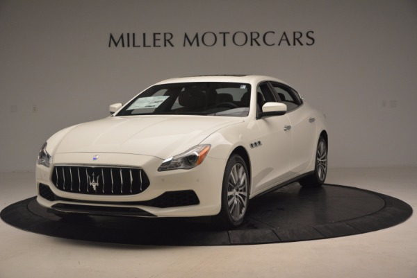Used 2017 Maserati Quattroporte SQ4 for sale Sold at Bugatti of Greenwich in Greenwich CT 06830 1