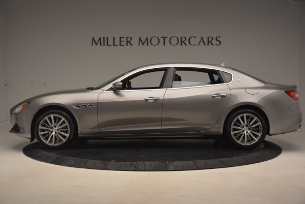 New 2017 Maserati Quattroporte SQ4 for sale Sold at Bugatti of Greenwich in Greenwich CT 06830 3