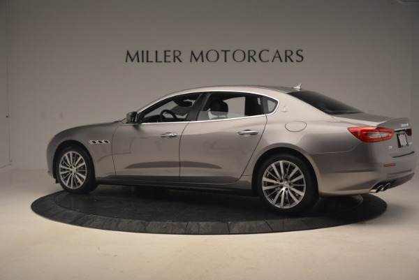 New 2017 Maserati Quattroporte SQ4 for sale Sold at Bugatti of Greenwich in Greenwich CT 06830 4