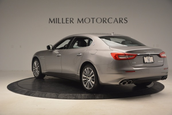 New 2017 Maserati Quattroporte SQ4 for sale Sold at Bugatti of Greenwich in Greenwich CT 06830 5