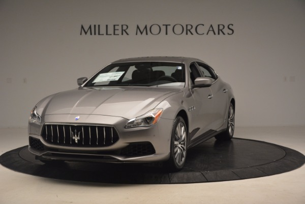 New 2017 Maserati Quattroporte SQ4 for sale Sold at Bugatti of Greenwich in Greenwich CT 06830 1