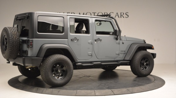 Used 2014 Jeep Wrangler Unlimited Sport for sale Sold at Bugatti of Greenwich in Greenwich CT 06830 10