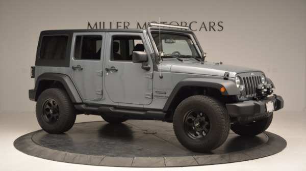 Used 2014 Jeep Wrangler Unlimited Sport for sale Sold at Bugatti of Greenwich in Greenwich CT 06830 12