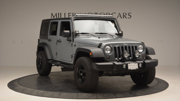 Used 2014 Jeep Wrangler Unlimited Sport for sale Sold at Bugatti of Greenwich in Greenwich CT 06830 13