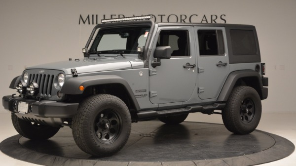 Used 2014 Jeep Wrangler Unlimited Sport for sale Sold at Bugatti of Greenwich in Greenwich CT 06830 2
