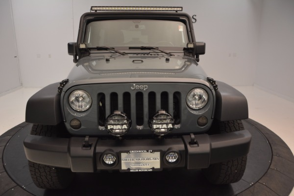 Used 2014 Jeep Wrangler Unlimited Sport for sale Sold at Bugatti of Greenwich in Greenwich CT 06830 28