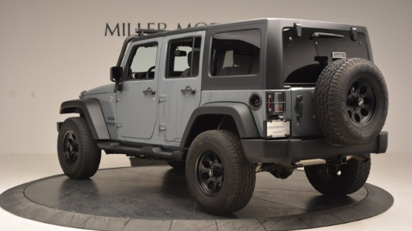Used 2014 Jeep Wrangler Unlimited Sport for sale Sold at Bugatti of Greenwich in Greenwich CT 06830 5