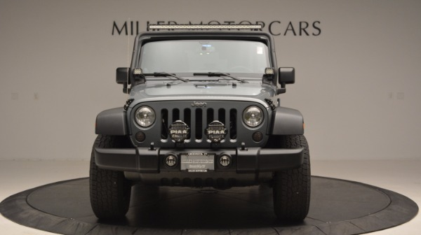 Used 2014 Jeep Wrangler Unlimited Sport for sale Sold at Bugatti of Greenwich in Greenwich CT 06830 6