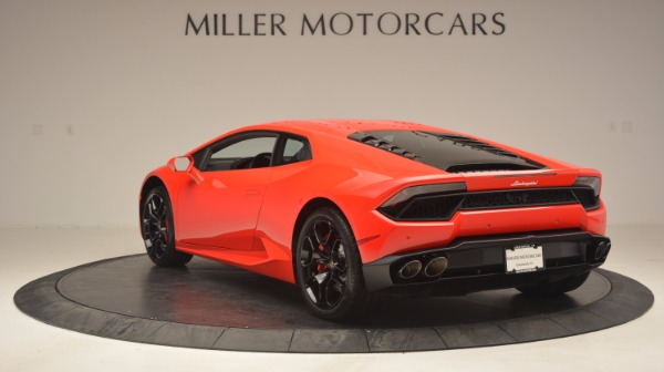 Used 2016 Lamborghini Huracan LP 580-2 for sale Sold at Bugatti of Greenwich in Greenwich CT 06830 5