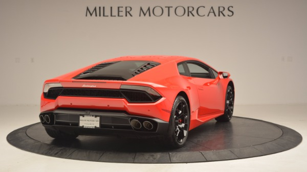 Used 2016 Lamborghini Huracan LP 580-2 for sale Sold at Bugatti of Greenwich in Greenwich CT 06830 7