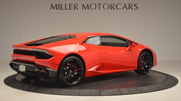 Used 2016 Lamborghini Huracan LP 580-2 for sale Sold at Bugatti of Greenwich in Greenwich CT 06830 8
