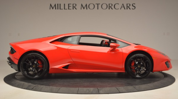 Used 2016 Lamborghini Huracan LP 580-2 for sale Sold at Bugatti of Greenwich in Greenwich CT 06830 9