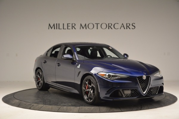 New 2017 Alfa Romeo Giulia Quadrifoglio for sale Sold at Bugatti of Greenwich in Greenwich CT 06830 11