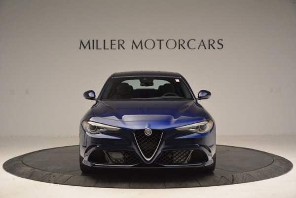 New 2017 Alfa Romeo Giulia Quadrifoglio for sale Sold at Bugatti of Greenwich in Greenwich CT 06830 12