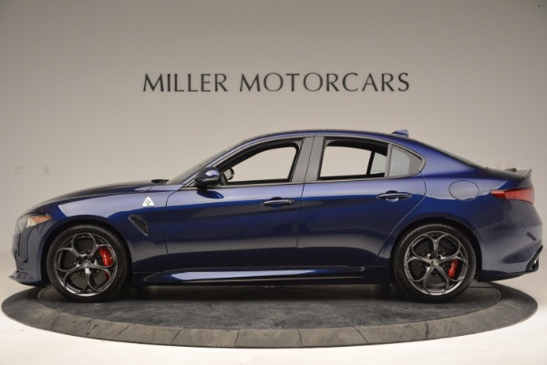 New 2017 Alfa Romeo Giulia Quadrifoglio for sale Sold at Bugatti of Greenwich in Greenwich CT 06830 3