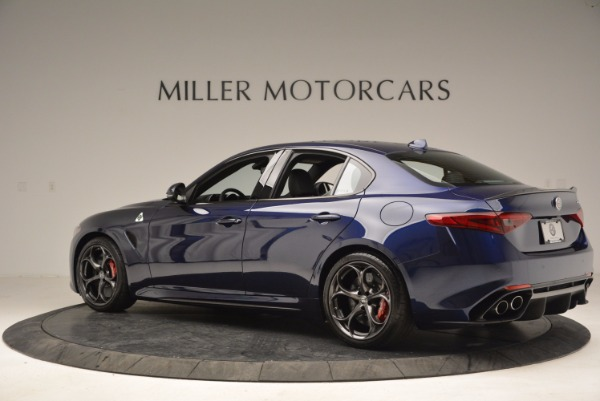 New 2017 Alfa Romeo Giulia Quadrifoglio for sale Sold at Bugatti of Greenwich in Greenwich CT 06830 4