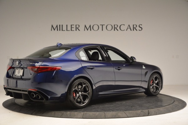 New 2017 Alfa Romeo Giulia Quadrifoglio for sale Sold at Bugatti of Greenwich in Greenwich CT 06830 8