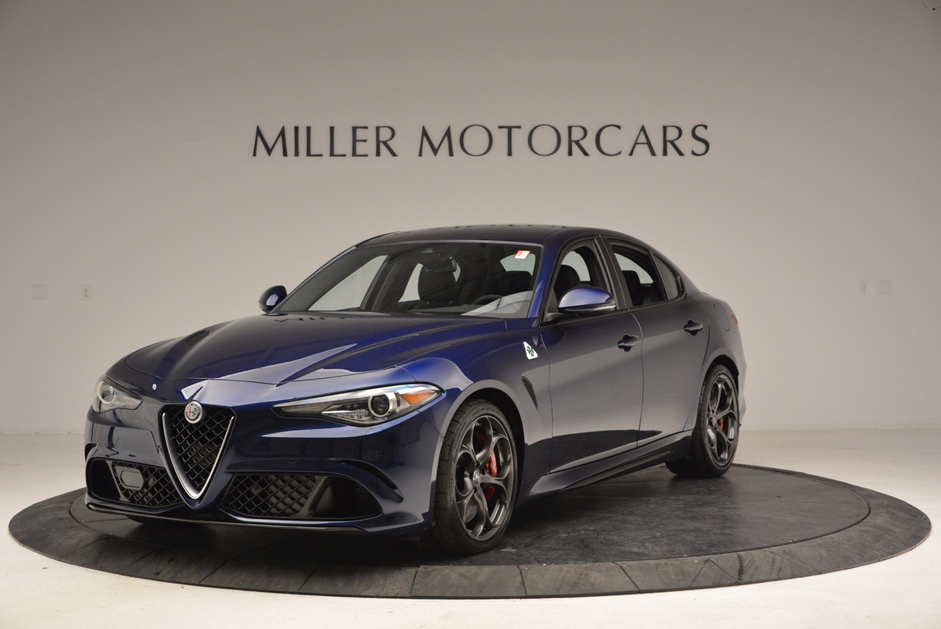New 2017 Alfa Romeo Giulia Quadrifoglio for sale Sold at Bugatti of Greenwich in Greenwich CT 06830 1