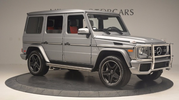 Used 2016 Mercedes Benz G-Class G 63 AMG for sale Sold at Bugatti of Greenwich in Greenwich CT 06830 10