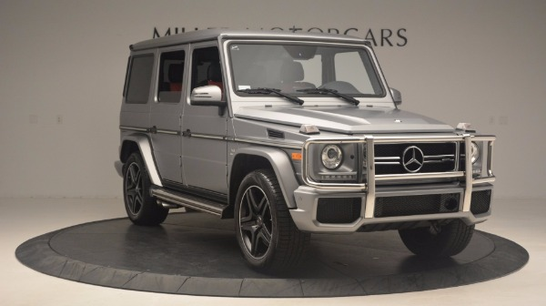Used 2016 Mercedes Benz G-Class G 63 AMG for sale Sold at Bugatti of Greenwich in Greenwich CT 06830 11