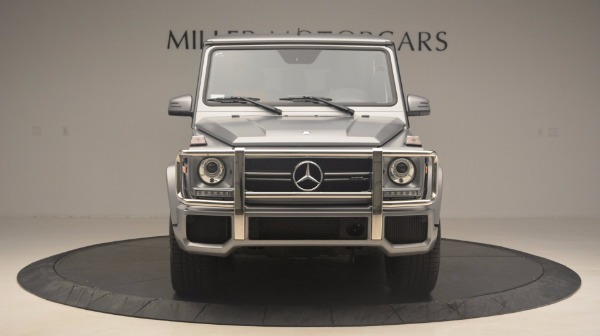 Used 2016 Mercedes Benz G-Class G 63 AMG for sale Sold at Bugatti of Greenwich in Greenwich CT 06830 12