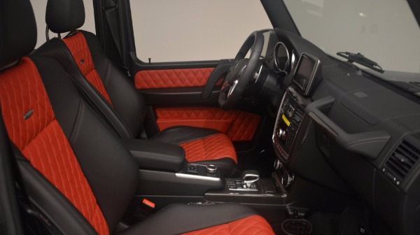 Used 2016 Mercedes Benz G-Class G 63 AMG for sale Sold at Bugatti of Greenwich in Greenwich CT 06830 17