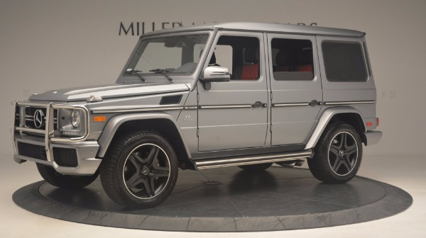 Used 2016 Mercedes Benz G-Class G 63 AMG for sale Sold at Bugatti of Greenwich in Greenwich CT 06830 2